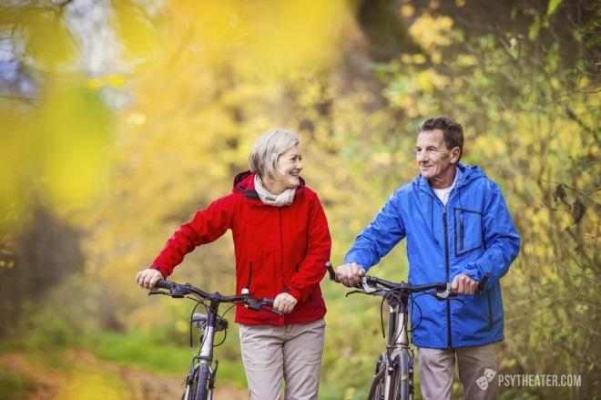 Активный образ жизни пожилых людей как профилактика стресса