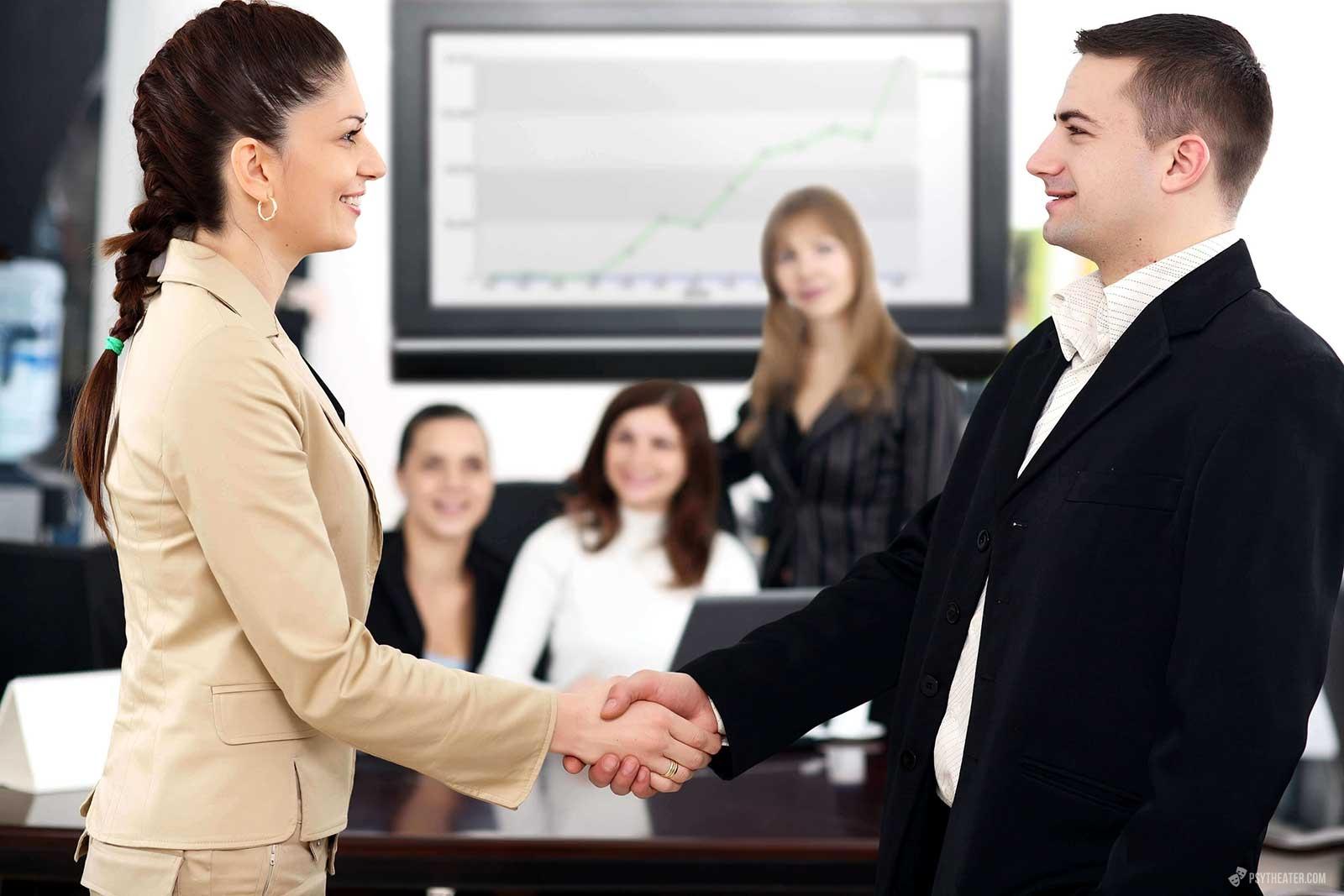 общение с клиентами