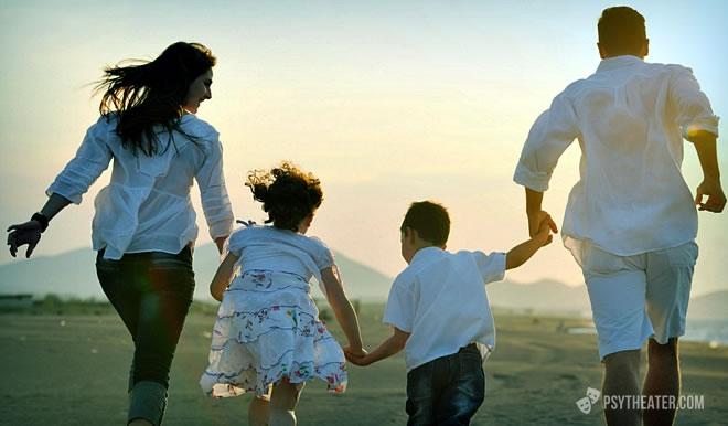 Семейная жизнь, как в сказке