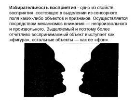 Восприятие в психологии