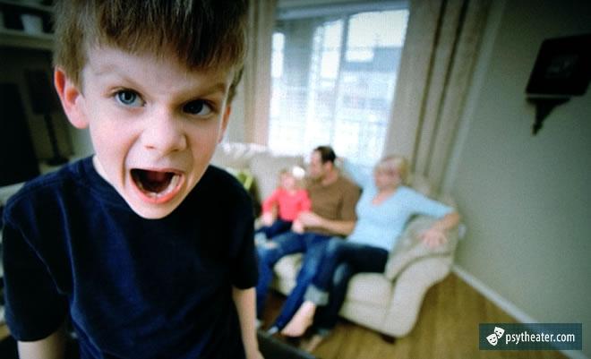 Возрастное демонстративное поведение
