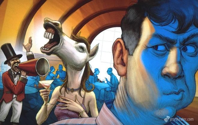 Зрительные галлюцинации в помраченном сознании